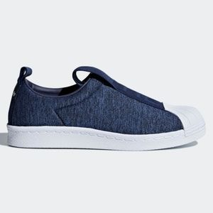 new style af4a4 ca25d NWT adidas Superstar BW3S Slip-on Shoes NWT
